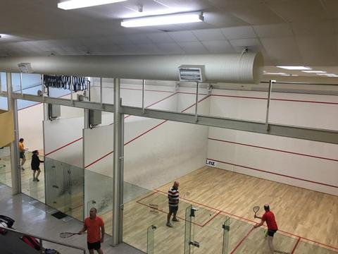 Squash Court Hire Charges