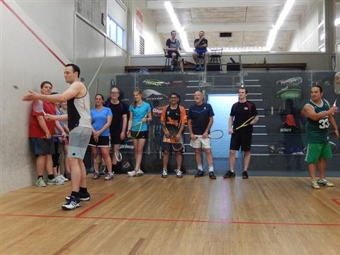 Ways to get into squash
